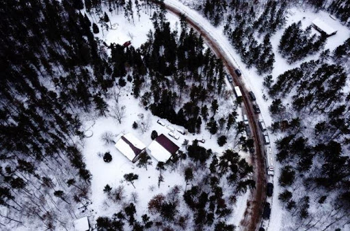 Remote cabin where kidnapper Jake Patterson held Jayme Closs for 88 days. Photo courtesy Fox 11 News.