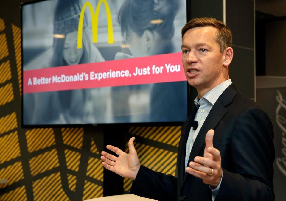 McDonalds CEO Seeks to Change Corporate Culture